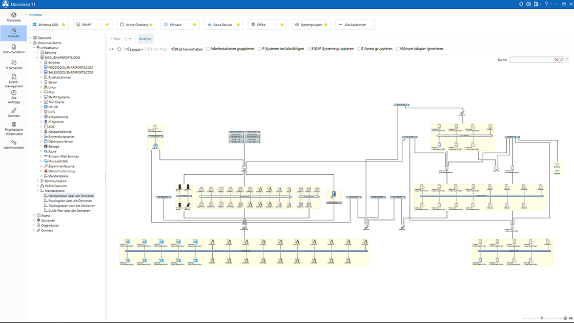 Docusnap Bericht Betriebssysteme