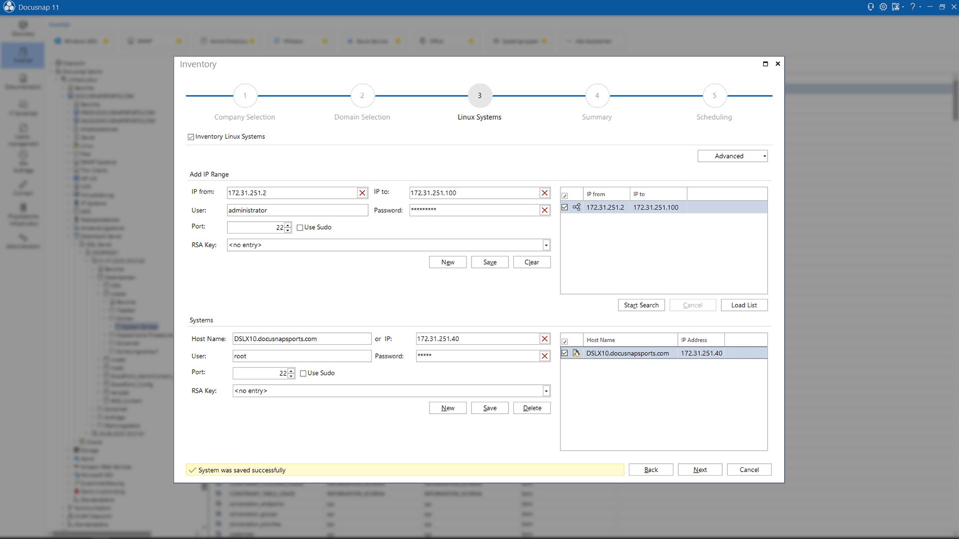 Screenshot: Inventory Mac Systems