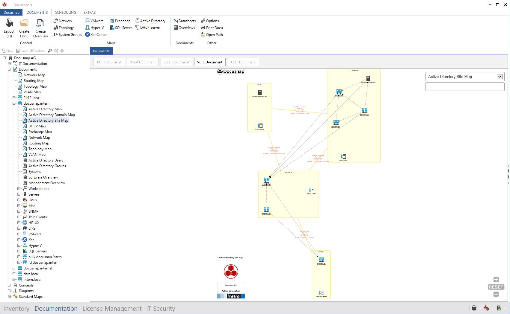 Screenshot: Active Directory Plan